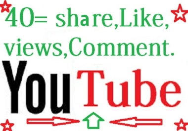 PROVIDE YOUTUBE PACKAGE 40+