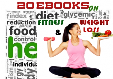 give 50 eBooks on Fitness & Weight Loss plus One Bonus