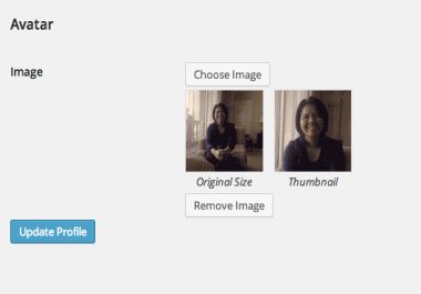 Use own photo in WordPress profile, not Gravatar