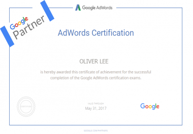help you get the Google Adwords Certification