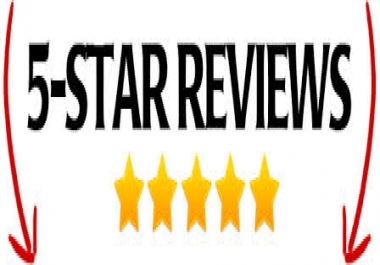 Give 5 Five star Reviews to your Fan page