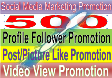 give Fast Social Media Marketing custom promotion