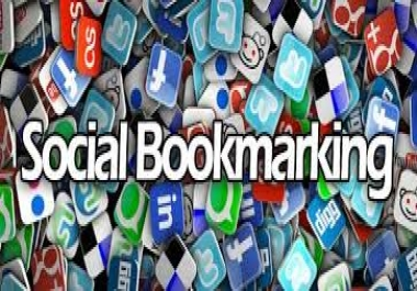 Bookmark your link to 100 unique social bookmarking sites, ping + seolinks