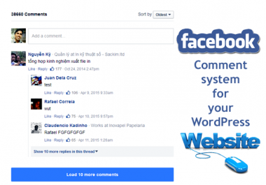 add Facebook Comment system in WordPress Website