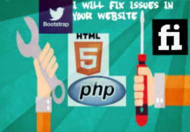 fix issues in your website