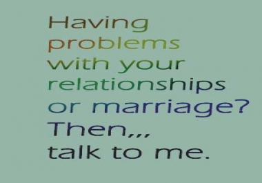 give you tips on how to manage your relationship or marriage to make it a successful one.