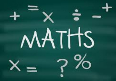 solve MATHS Assignments