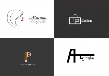 Create a MODERN logo for your business