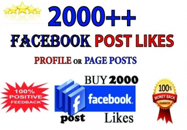increase your facebook post likes