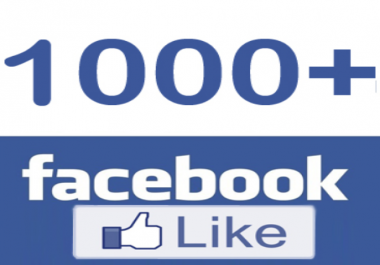 Add 500 Facebook likes for pages