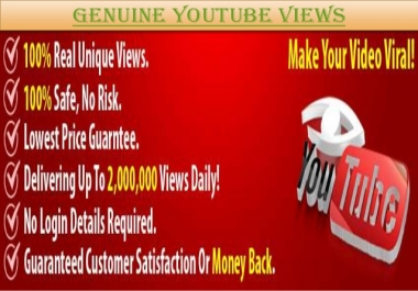 add 8000 safe youtube views