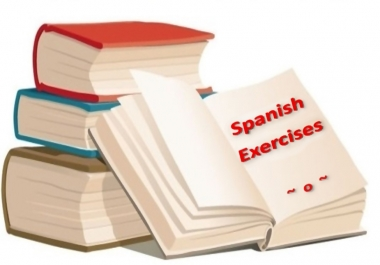 give you a comprehensive battery of SPANISH exercises
