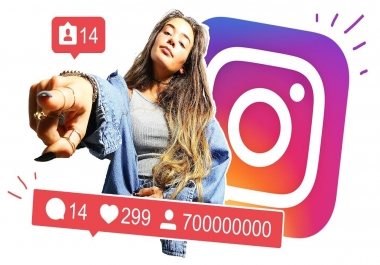 give instant 600 Instagram Followers or 2000 Likes or 10000 Views no Drop