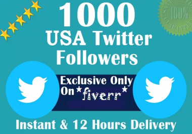 add 1000 real twitter or IG followers in 24hrs