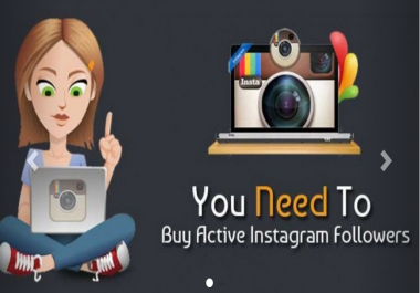 Add 1000 USA Instagram Followers or 1000 Views or 1000 Likes or 100 Comments