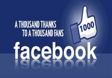 promote your Facebook Page to get +1000 Likes