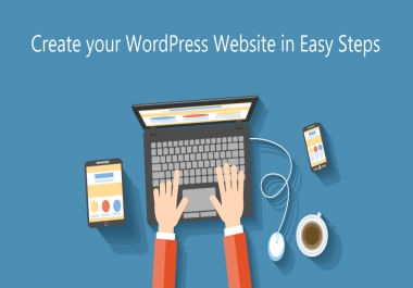 Create a WordPress Website or any other kind of website
