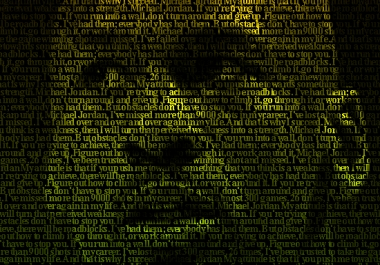 create your Text Portrait