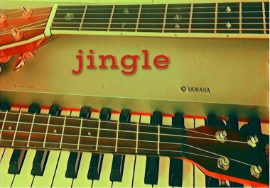 carefully write and record a pro jingle or background music to perfectly complement your project