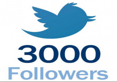 promote your Twitter 3000 followers