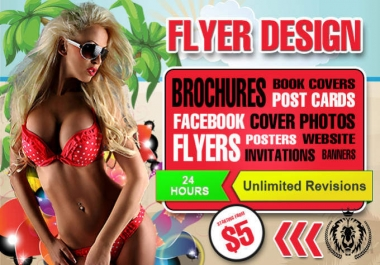 design amazing Posters and Flyers