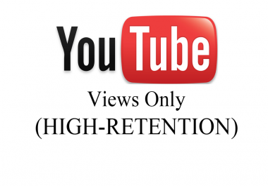 Give You 5,000+ YouTube High Retention Views (Fast Delivery)