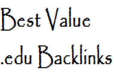 get you 300 EDU backlinks for your site from edu blogs