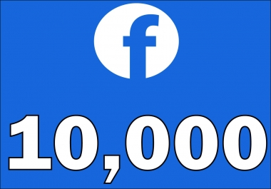 Add 10,000+Instantly started Active Facebook Fan Page likes