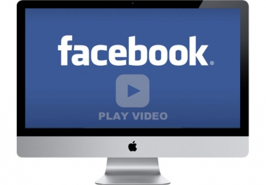 give 50,000 real facebook video views