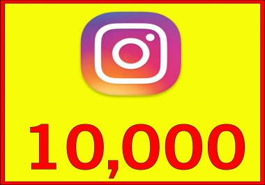 give 10,000 Instant Fast Non Drop Followers
