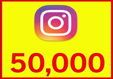 give Instagram 50,000 Instant Fast Non Drop (LIKES)