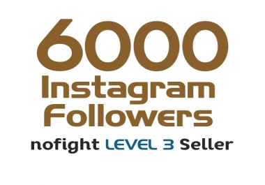 add 6000 HQ instagram followers in 72 hours