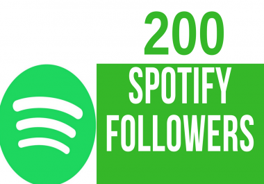 Get You 200 Real Spotify Followers