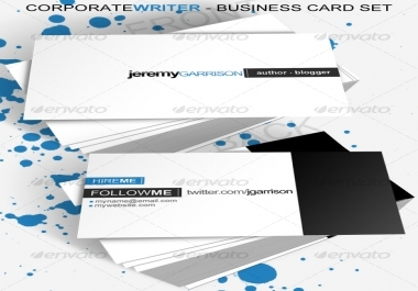 create a business card
