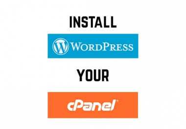 Install WordPress Your Cpanel In 24 Hours