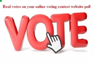 Give You 150 Vote online voting contest