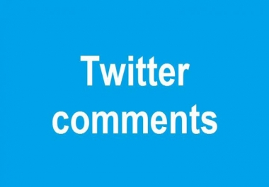 get 80 Real USA user twitter comments to your tweet