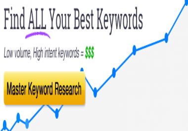 teach you how to do Master Keyword Research