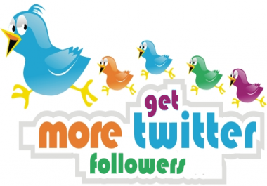 Give Amazing +2000 Twitter followers Non-drop High quality