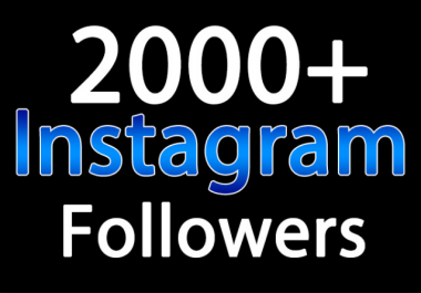 add 2000 instagram likes or 1000 instagram followers in 24 hours for