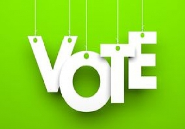 Bring you 120 genuine votes to your entry to any website contest poll