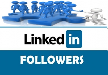 get you 30 USA real LinkedIn followers for your LinkedIn company page