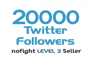 add 20000 twitter followers