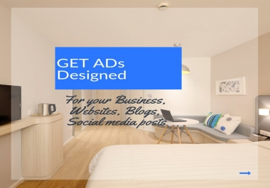 Create a super high conversion ad banner image design for you