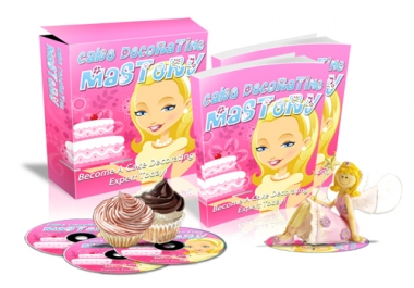 give you Cake Decorating Mastery's minisite graphics
