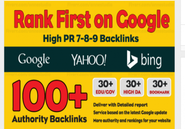 Do 100 Manual Dofollow Backlinks With High PR Quality