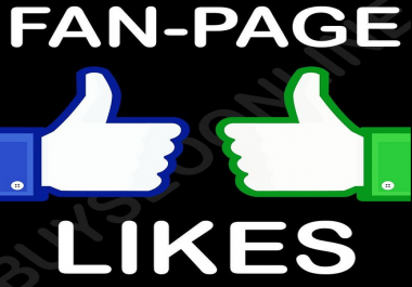 Add 2200 Facebook likes for pages
