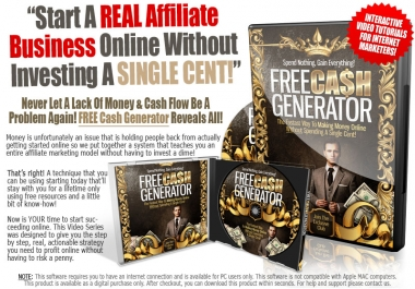 Give Free Cash Generator course In addition to two gifts is a Blogging Gold Profits.pdf + Software VideoEbookMaker