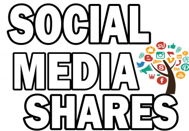 Provide Manually 400+ Social Media Shares for your website, blog, or any URL