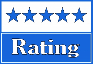 Give 100 Five star Rating to your Fan page